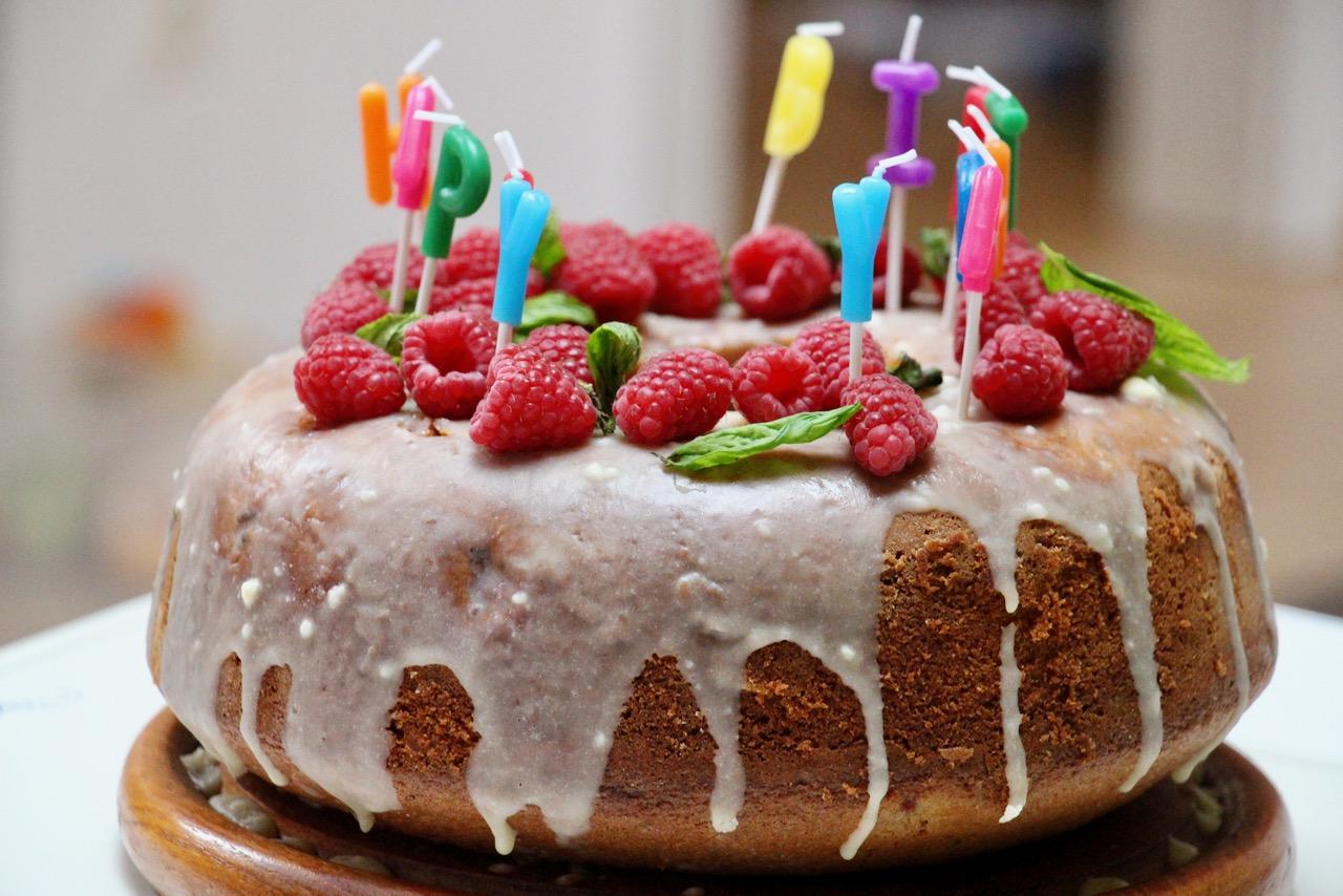 Sommerkuchen Ein Himbeer Kranz Zum Geburtstag Allesinklein